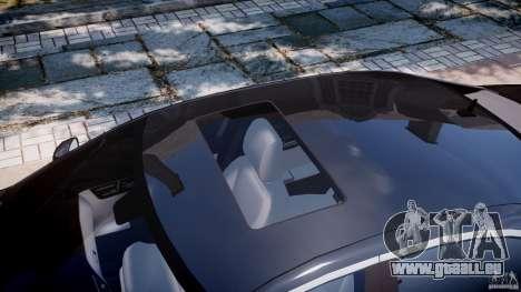 Mercedes-Benz S600 w221 pour GTA 4 vue de dessus