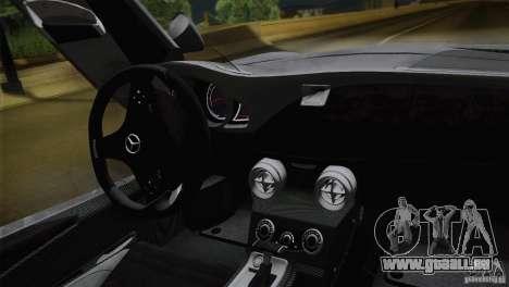 Mercedes-Benz SLR Stirling Moss 2005 pour GTA San Andreas vue de dessus