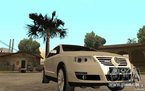 Volkswagen Passat Variant 2010 für GTA San Andreas Rückansicht
