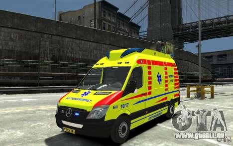 Mercedes-Benz Sprinter 2011 Ambulance für GTA 4