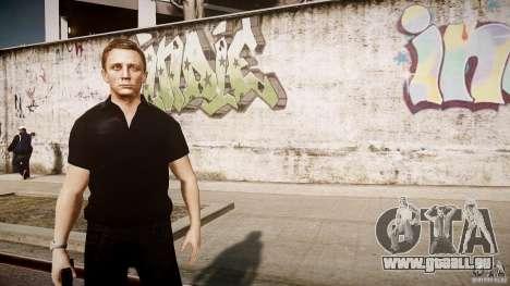 James Bond-Haut für GTA 4 fünften Screenshot