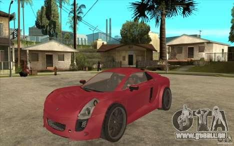 Mastretta MXT pour GTA San Andreas