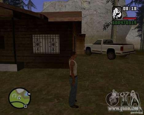 Maison Hunter v 1.0 pour GTA San Andreas deuxième écran