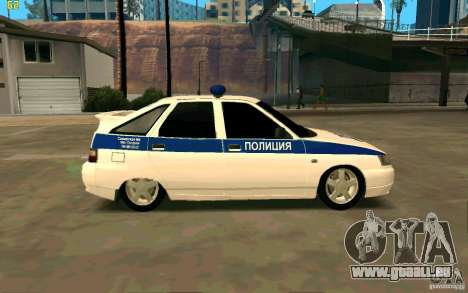 Police Vaz-2112 pour GTA San Andreas laissé vue