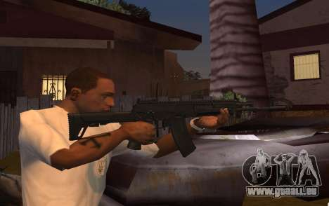 AK-12 pour GTA San Andreas deuxième écran