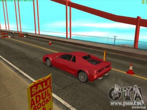 Takomskij Bridge (pont de Tacoma Narrows) pour GTA San Andreas cinquième écran