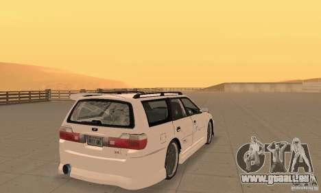 Nissan Stagea GTR pour GTA San Andreas laissé vue
