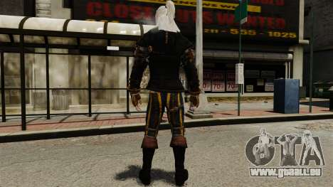 Geralt de Rivia v1 pour GTA 4 troisième écran