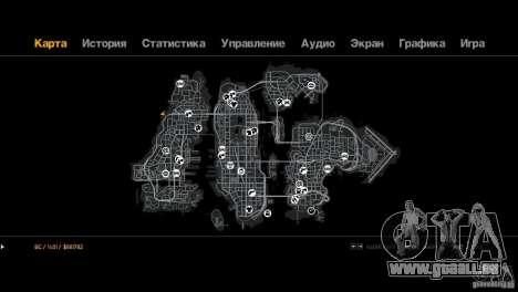 Route de Trialovskaâ pour GTA 4 quatrième écran
