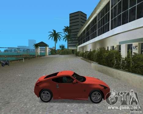 Nissan 370Z für GTA Vice City rechten Ansicht