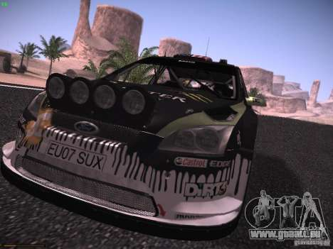 Ford Focus RS Monster Energy pour GTA San Andreas