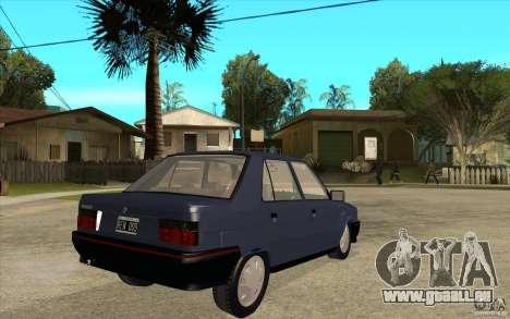 Renault 9 Mod 92 TXE pour GTA San Andreas vue de droite