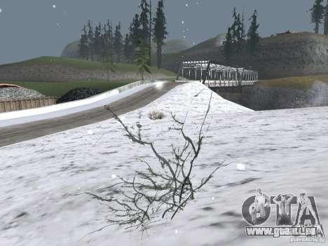 Neige pour GTA San Andreas deuxième écran