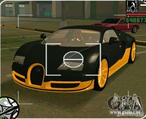 Bugatti Veyron Super Sport final pour GTA San Andreas