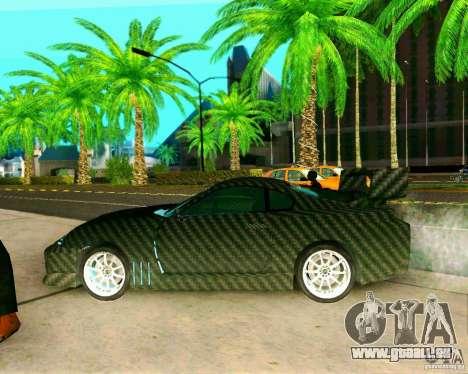 Toyota Supra Carbon für GTA San Andreas zurück linke Ansicht