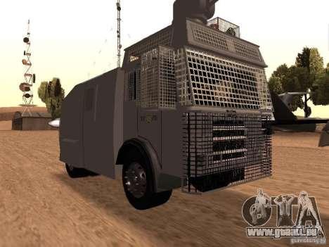 Un canon à eau police Rosenbauer v2 pour GTA San Andreas