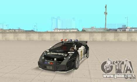 Lamborghini Gallardo Cop V1.0 pour GTA San Andreas