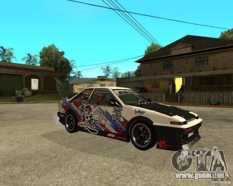 Yoshikazu AE86 für GTA San Andreas rechten Ansicht