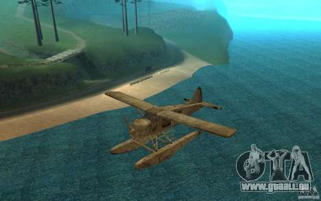 De Havilliand Beaver DHC2 pour GTA San Andreas