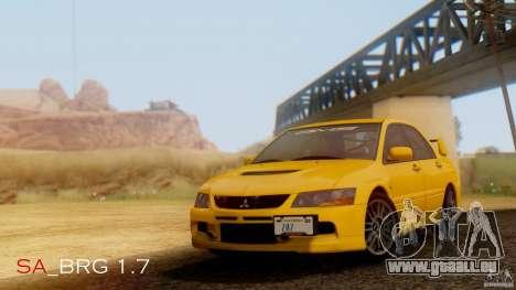 SA Beautiful Realistic Graphics 1.7 BETA pour GTA San Andreas