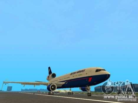 McDonell Douglas DC10 British Airways pour GTA San Andreas laissé vue