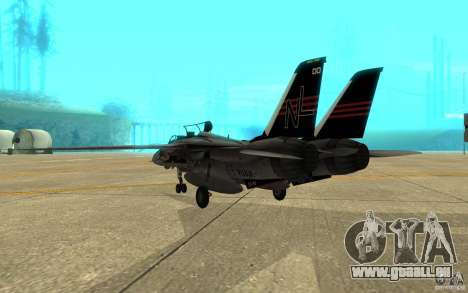 F-14A Screaming Eagles VF-51 pour GTA San Andreas vue de droite