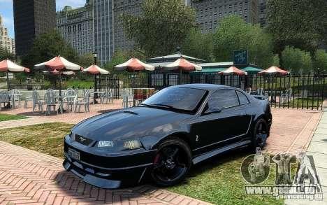 Ford Mustang Cobra R pour GTA 4 Vue arrière