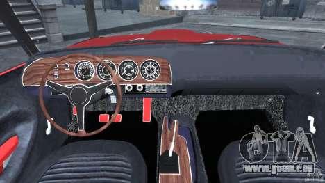 Plymouth Cuda AAR 340 1970 für GTA 4 rechte Ansicht