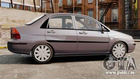 Suzuki Liana GLX 2002 pour GTA 4 est une gauche