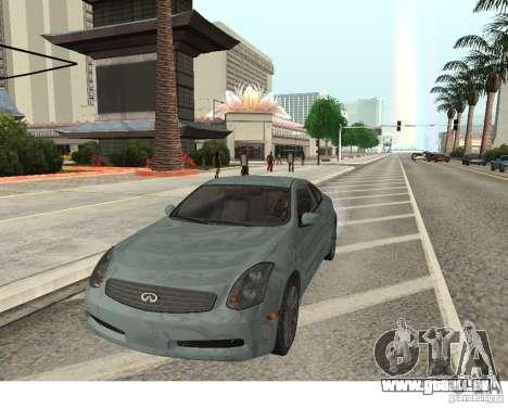 Infiniti G35 Coupe für GTA San Andreas