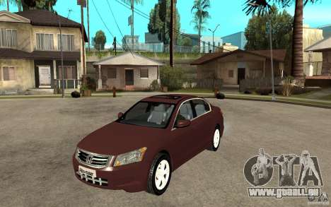 Honda Accord 2009 für GTA San Andreas
