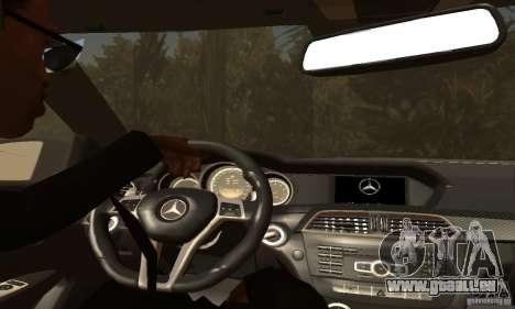 Mercedes-Benz C63 AMG pour GTA San Andreas roue