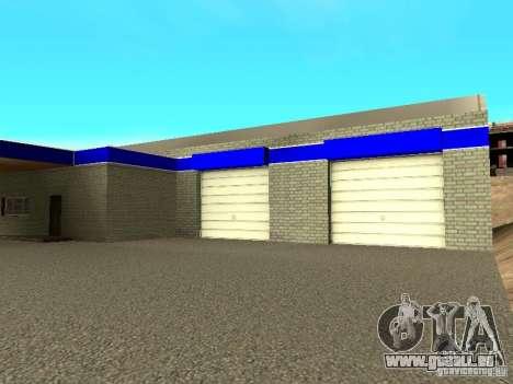 Garage à San Fierro pour GTA San Andreas quatrième écran