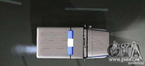 UAZ-31512 Police pour GTA San Andreas vue intérieure
