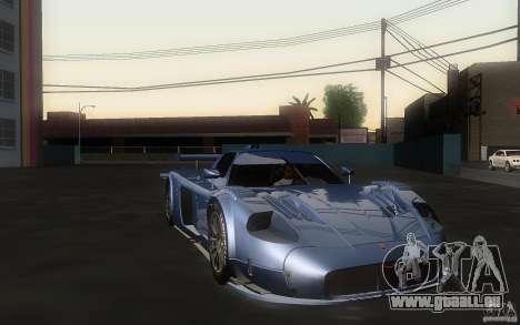 Maserati MC12 GT1 für GTA San Andreas zurück linke Ansicht