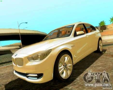 BMW 550i GranTurismo 2009 V1.0 für GTA San Andreas
