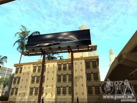 Neue Texturen Downtown Los Santos für GTA San Andreas sechsten Screenshot