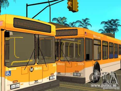New Flyer D40LF pour GTA San Andreas