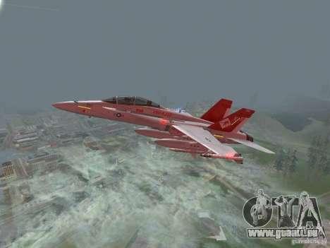 FA-18D Hornet für GTA San Andreas
