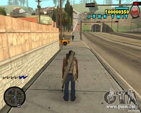 HUD Adidas pour GTA San Andreas deuxième écran