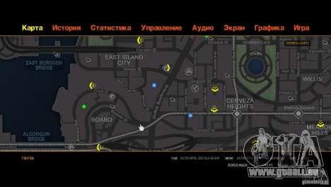 CG4 Radar Map pour GTA 4 neuvième écran