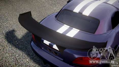 Dodge Viper RT 10 Need for Speed:Shift Tuning pour GTA 4 est un côté
