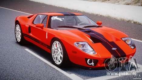 Ford GT 2006 v1.0 pour GTA 4 Vue arrière