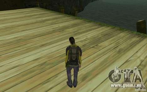 Backpacker HD Skin für GTA San Andreas zweiten Screenshot