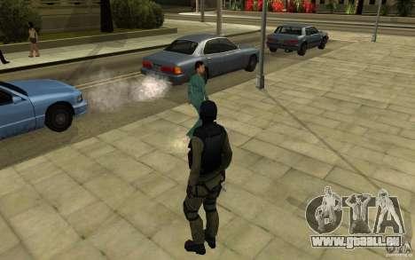 CJ-special forces pour GTA San Andreas quatrième écran