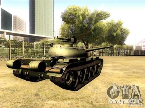 Type 59 V2 für GTA San Andreas zurück linke Ansicht