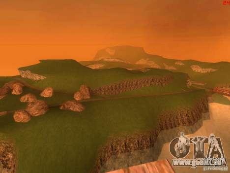 Without the desert pour GTA San Andreas sixième écran
