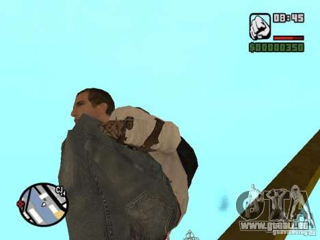 Desmond Miles pour GTA San Andreas dixième écran