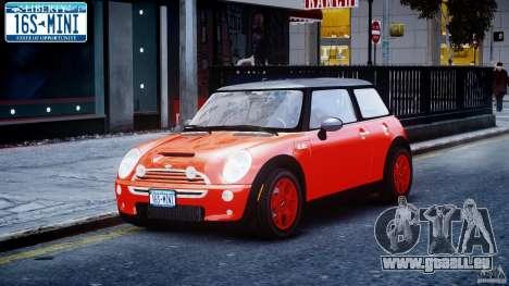 Mini Cooper S 2003 v1.2 pour GTA 4