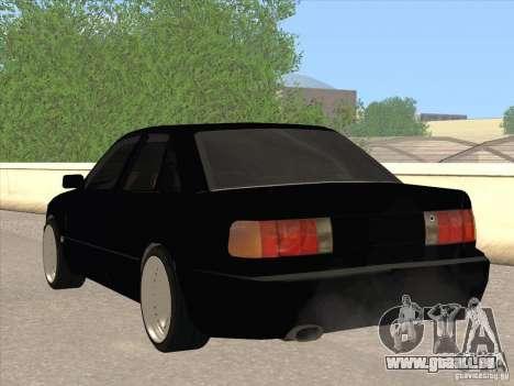Audi 100 für GTA San Andreas zurück linke Ansicht